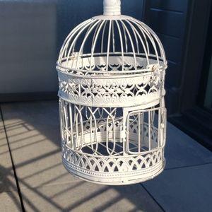small vintage birdcage